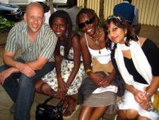 Pete, Allison, Christine and Rashma - WIO Staff